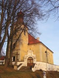 Doudleby - slovanské hradiště a kostel sv. Vincence