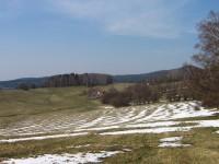 Podhůří Slepičích hor (vpravo Kohout)