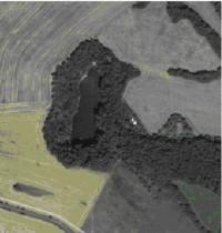 Satelitní snímek lokality