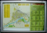 Informační tabule s plánem města