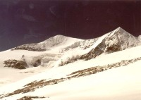 Cesta pravým okrajem ledovce