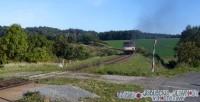 Odjezd motoráku z Hostětína