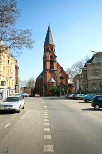 Ústí nad Labem - kostel apoštola Pavla