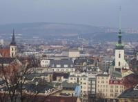 Brno - výhled na centrum města