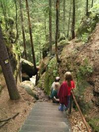 Kyjovské údolí: sestup dolů
