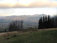 Výhled z Ondřejníku na Lysou horu
