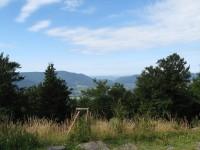 Výhled ze Skalky na Radhošť