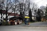 náměstí - v parku jsou na podzim pravé hříbky