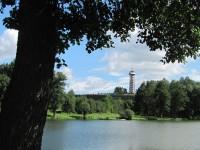 Pohled na Bohdanku od Pilského rybníka