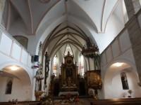 interiér kostela sv. Stanislava