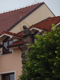 Velké Meziříčí - barokní sochy v Hornoměstské ulici