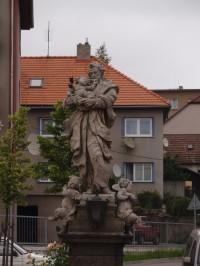Sousoší sv. Josefa s Ježíškem ve Velkém Meziříčí