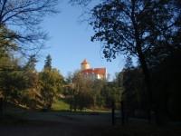 Z hradu Veveří kolem přehrady zpátky do Brna