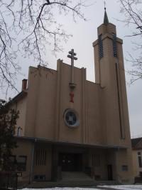 Kostel Spasitele čs. církve husitské v Brně-Židenicích