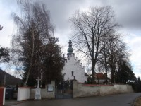 Hřbitovní kostelík Nejsvětější Trojice v Předklášteří