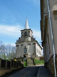 Sudslava - kostel Proměnění Páně