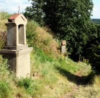 Kalvárie - Ostré - Křížová cesta