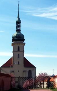 Most - Přesunutý kostel Nanebevzetí Panny Marie