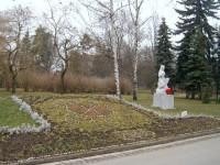 Poděbrady - Lázeňský park  - květinové hodiny