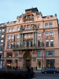 Václavské náměstí 19 - Novobarokní palác