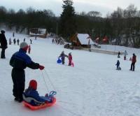 Šibeniční vrch u Mnichovic - místo pro bobování