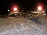 Monínec - večerní lyžování na dětském skiparku