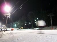 monínec - večerní lyžování