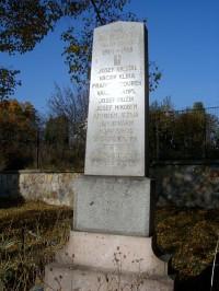 Bubovice - Pomník obětem první světové války