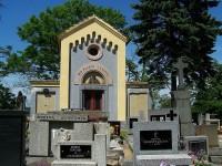 Tuřany – hřbitov u kostela Nanebevzetí Panny Marie
