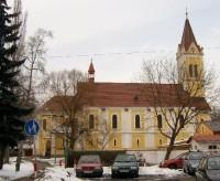 Kostel Nanebevzetí: Kostel Nanebevstoupení Páně, Karlovy Vary, Stará Role