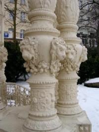 Sloupy: Sadová kolonáda ? promenádní část bývalé letní restaurace (Fellner a Helmer, 1881-82).