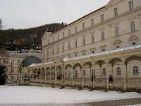 Sadová 3: Sadová kolonáda ? promenádní část bývalé letní restaurace (Fellner a Helmer, 1881-82).