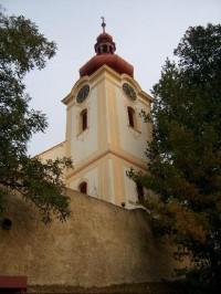 Kostel sv.Václava: Nalžovice Chlum