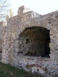Jižní hradby: z pohledu zevnitř hradeb