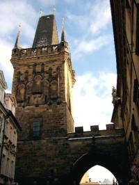 Vyšší mostecká věž a brána