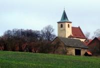 Kostel v Hrusicích