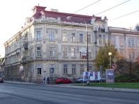 Ostrava - Secesní dům na rohu Žerotínovy a Nádražní ulice