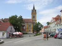 Hluboká nad Vltavou - náměstí