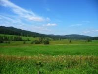 Šumavské údolí u Polky