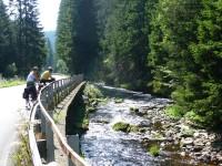 Podél Vltavy na kolech z Kvildy do Českých Budějovic