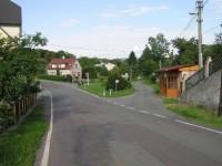 Bohdašín-náves