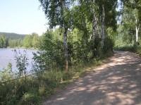 Cesta kolem rybníka Jindra