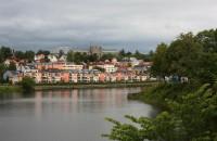 Trondheim - řeka Nidelva