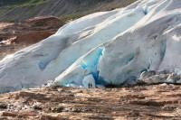 Ledovec  Svartisen,  Narvik, Vesterály, Lofoty  - Svolvær. Laponci