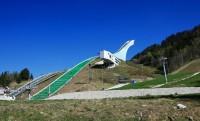 Garmisch-Partenkirchen, soutěska Partnachklamm, Oberau - Bavorsko - NĚMECKO