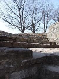 Po schodech ke Štramberské trůbě