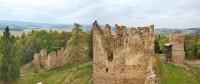 Zřícenina hradu Helfenburk v Jižních Čechách