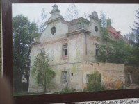 Takhle vypadal zámek před  rekonstrukcí