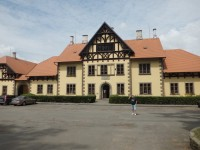 budova hřebčína
