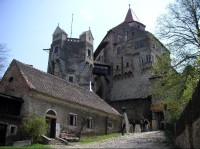 Vstupní část hradu